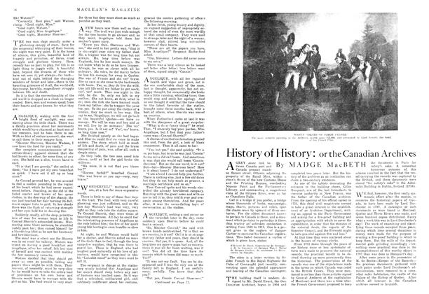 Article Preview: History of History:, November 1915   Maclean's