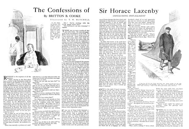 Article Preview: The Confessions of Sir Horace Lazenby, November 1915   Maclean's