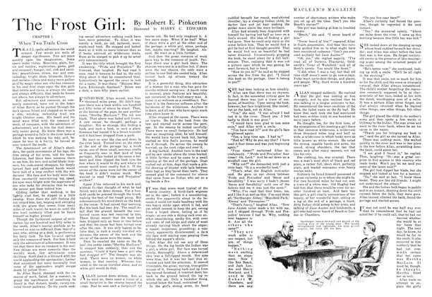 Article Preview: The Frost Girl, November 1915   Maclean's