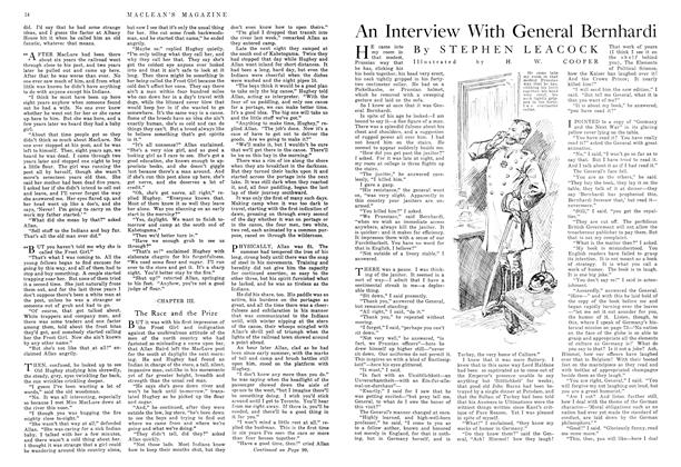 Article Preview: An Interview With General Bernhardi, November 1915 | Maclean's