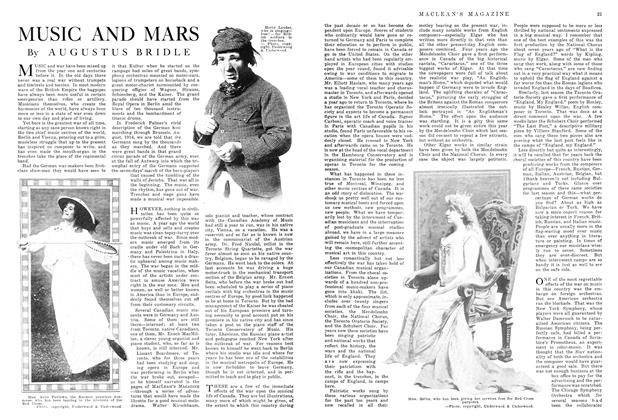 Article Preview: MUSIC AND MARS, December 1915 | Maclean's