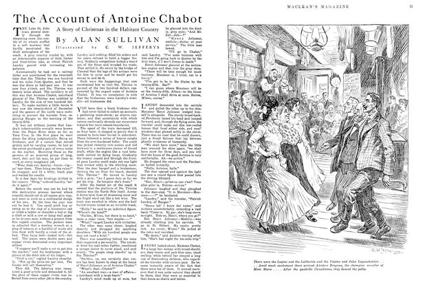 Article Preview: The Account of Antoine Chabot, December 1915 | Maclean's