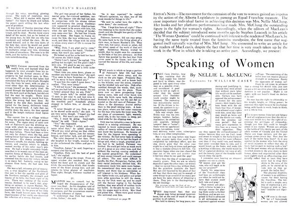 Article Preview: Speaking of Women, May 1916 | Maclean's