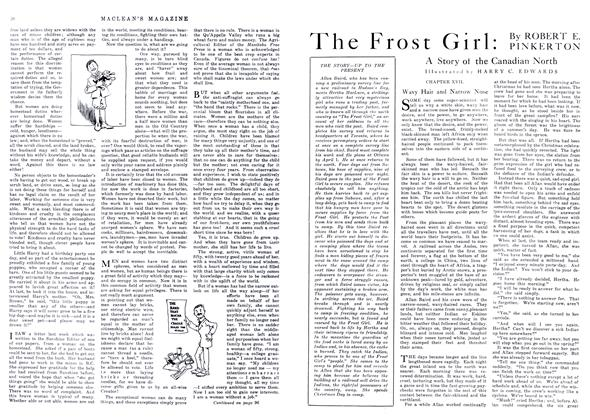 Article Preview: The Frost Girl, May 1916 | Maclean's