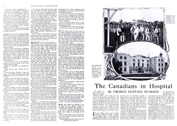 Article Preview: The Canadians in Hospital, May 1916 | Maclean's