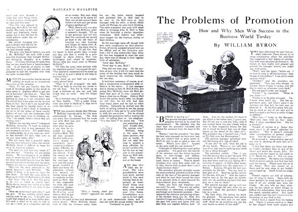 Article Preview: The Problems of Promotion, May 1916 | Maclean's