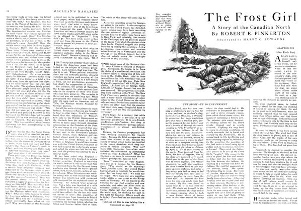 Article Preview: The Frost Girl, June 1916 | Maclean's