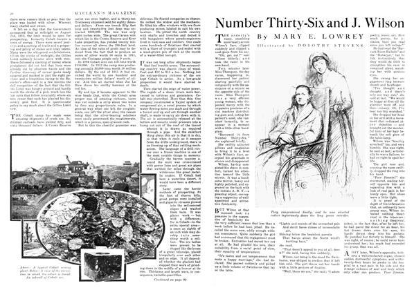 Article Preview: Number Thirty-Six and J. Wilson, June 1916 | Maclean's