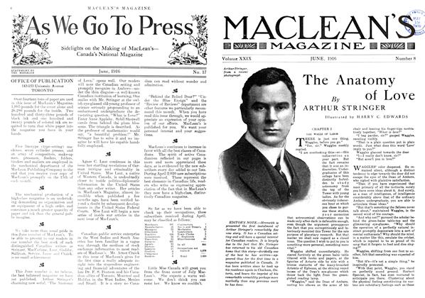 Article Preview: The Anatomy of Love, June 1916 | Maclean's