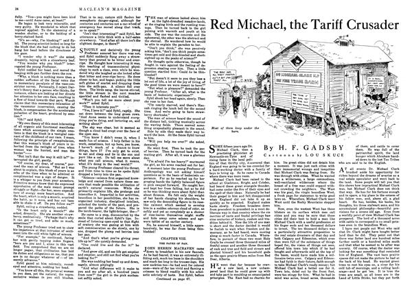 Article Preview: Red Michael, the Tariff Crusader, August 1916 | Maclean's