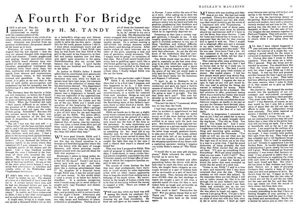 Article Preview: A Fourth For Bridge, August 1916 | Maclean's