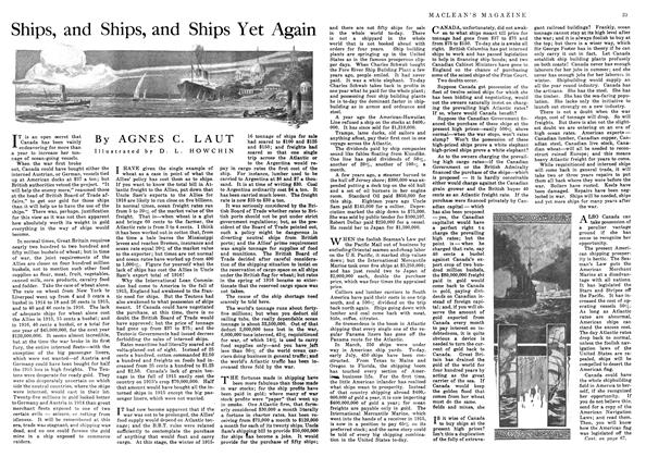 Article Preview: Ships, and Ships, and Ships Yet Again, September 1916 | Maclean's