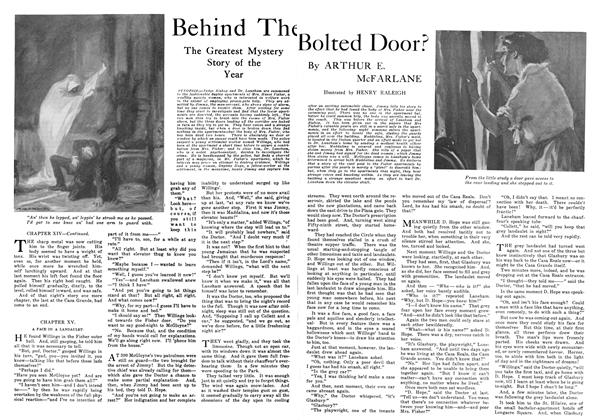 Article Preview: Behind The Bolted Door?, September 1916 | Maclean's