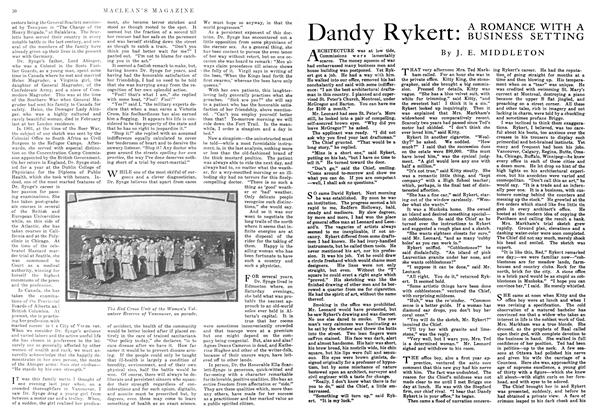Article Preview: Dandy Rykert: A ROMANCE WITH A BUSINESS SETTING, September 1916 | Maclean's