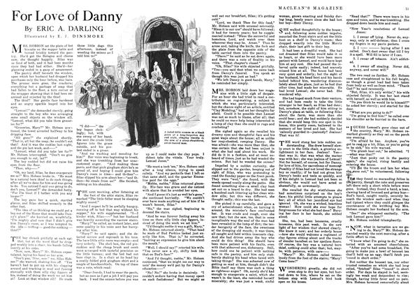 Article Preview: For Love of Danny, September 1916 | Maclean's