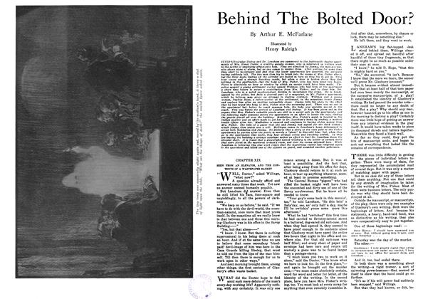 Article Preview: Behind The Bolted Door?, October 1916 | Maclean's