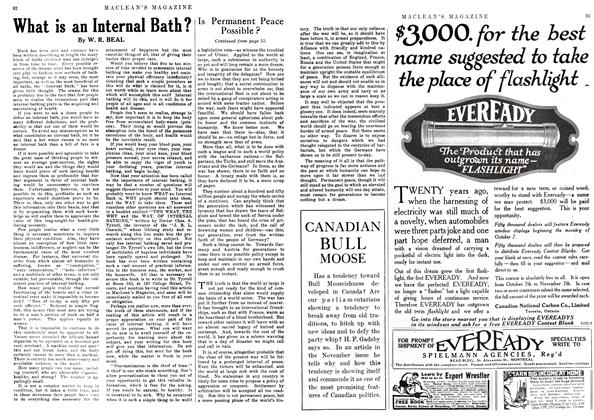Article Preview: What is an Internal Bath?, October 1916 | Maclean's