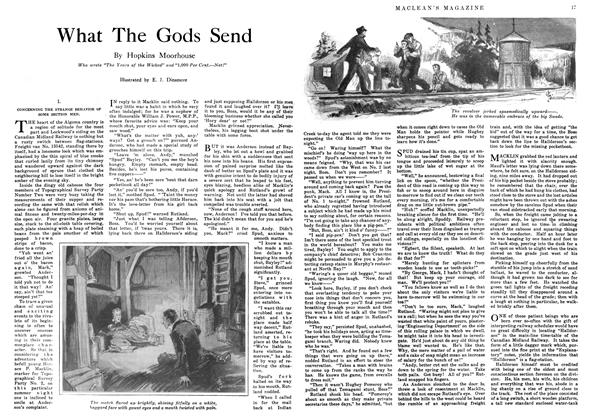 Article Preview: What The Gods Send, October 1916 | Maclean's