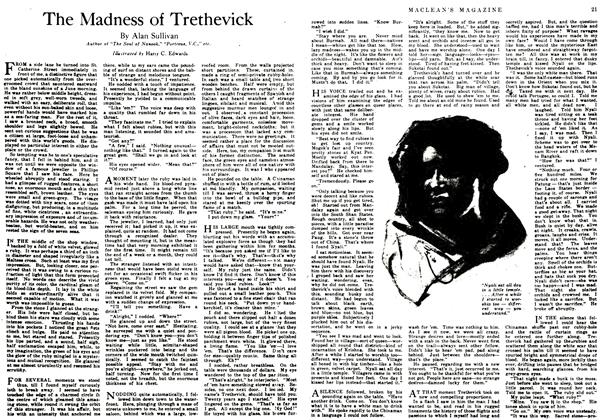 Article Preview: The Madness of Trethevick, January 1917 | Maclean's