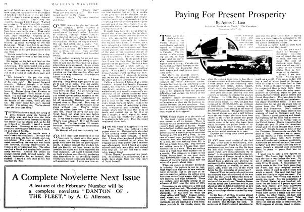 Article Preview: Paying For Present Prosperity, January 1917 | Maclean's