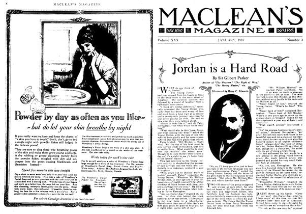 Article Preview: Jordan is a Hard Road, January 1917 | Maclean's