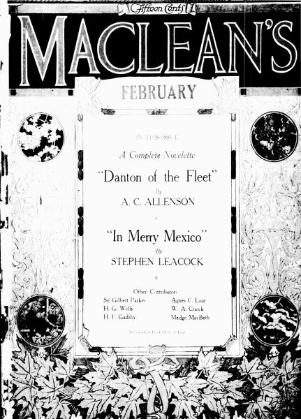 Issue: - February 1917 | Maclean's