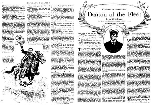 Article Preview: Danton of the Fleet, February 1917 | Maclean's