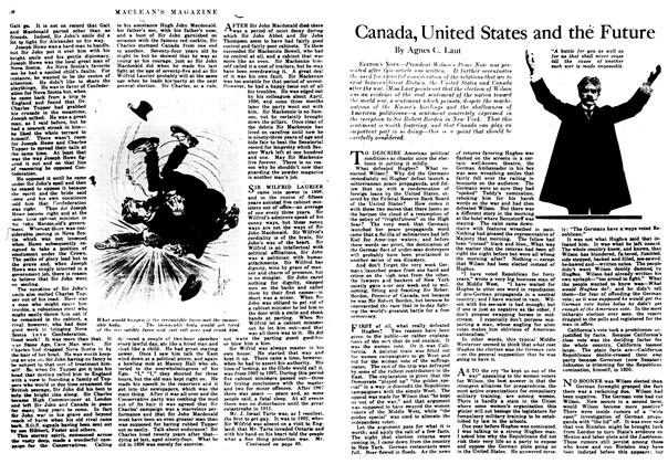Article Preview: Canada, United States and the Future, February 1917 | Maclean's