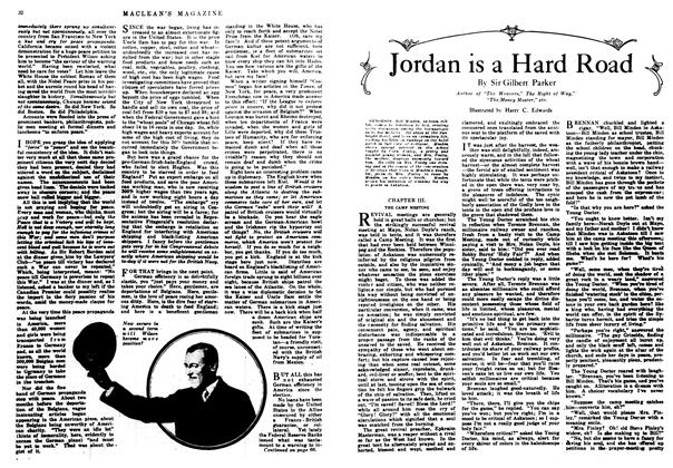Article Preview: Jordan is a Hard Road, February 1917 | Maclean's