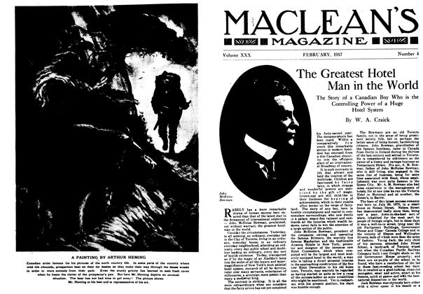 Article Preview: A PAINTING, February 1917 | Maclean's
