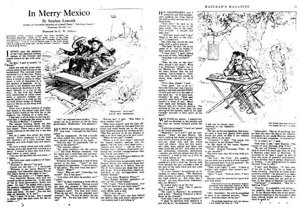 Article Preview: In Merry Mexico, February 1917 | Maclean's
