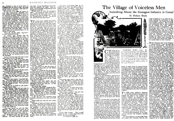 Article Preview: The Village of Voiceless Men, March 1917 | Maclean's
