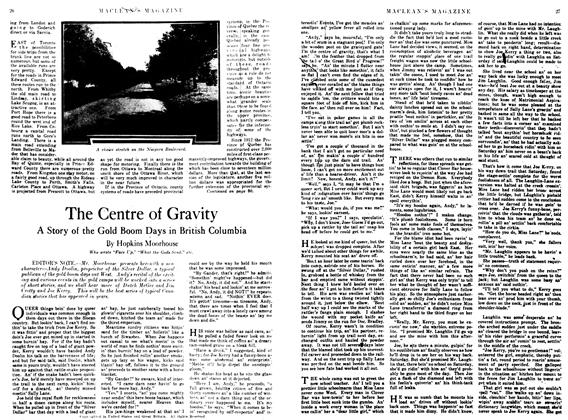 Article Preview: The Centre of Gravity, April 1917 | Maclean's