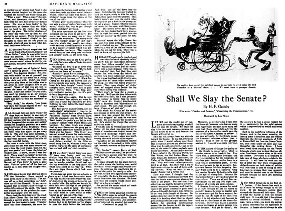 Article Preview: Shall We Slay the Senate?, April 1917 | Maclean's