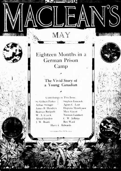 Issue: - May 1917 | Maclean's