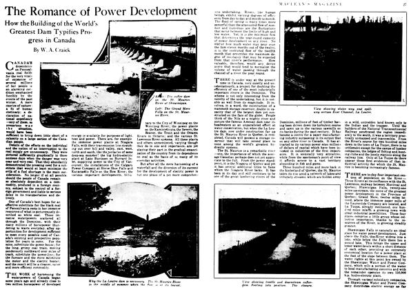 Article Preview: The Romance of Power Development, May 1917 | Maclean's