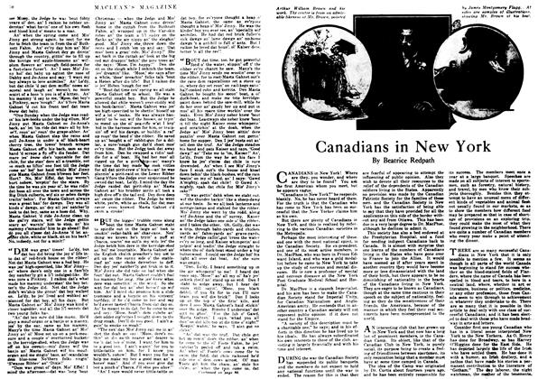 Article Preview: Canadians in New York, May 1917 | Maclean's