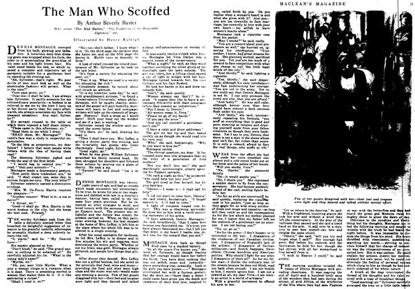 Article Preview: The Man Who Scoffed, June 1917 | Maclean's