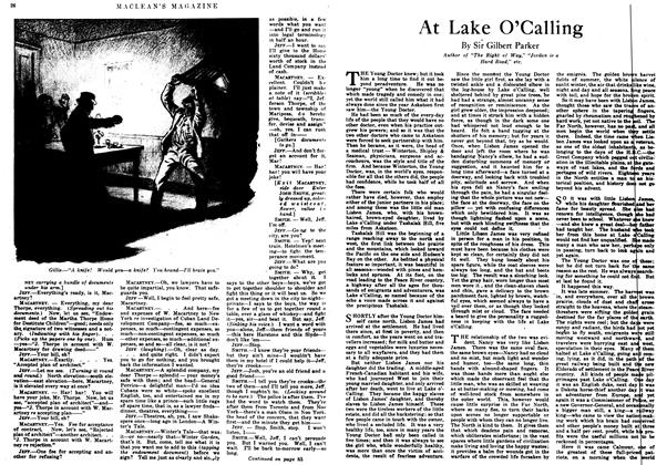 Article Preview: At Lake O'Calling, June 1917 | Maclean's