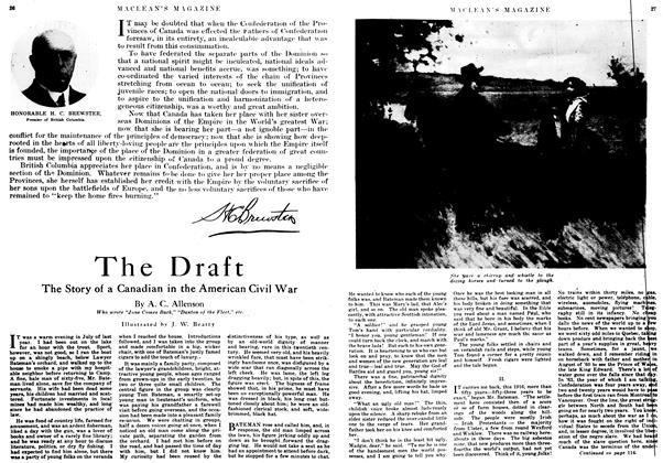 Article Preview: The Draft, July 1917 | Maclean's