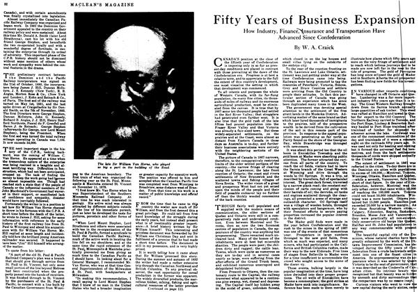 Article Preview: Fifty Years of Business Expansion, July 1917 | Maclean's