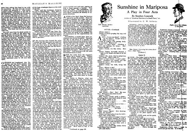 Article Preview: Sunshine in Mariposa, July 1917 | Maclean's