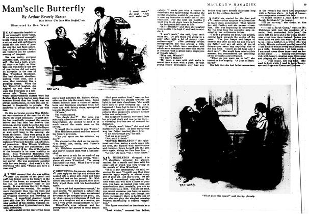 Article Preview: Mam'selle Butterfly, August 1917 | Maclean's