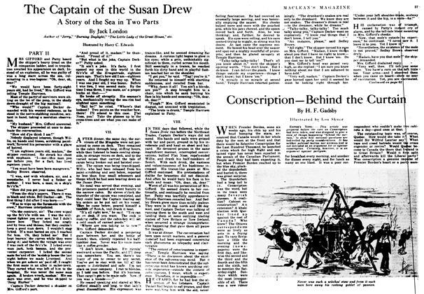 Article Preview: The Captain of the Susan Drew, August 1917 | Maclean's