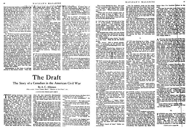 Article Preview: The Draft, August 1917 | Maclean's