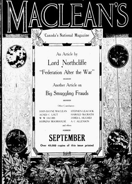 Issue: - September 1917 | Maclean's