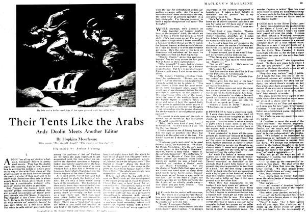Article Preview: Their Tents Like the Arabs, September 1917 | Maclean's