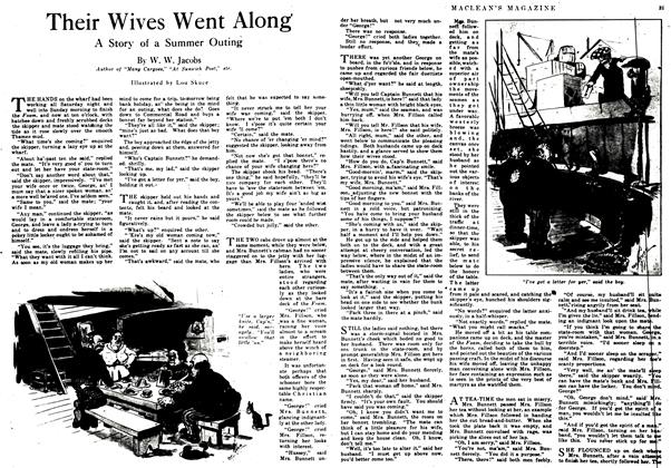 Article Preview: Their Wives Went Along, September 1917 | Maclean's