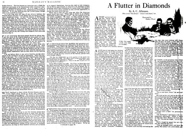 Article Preview: A Flutter in Diamonds, September 1917 | Maclean's