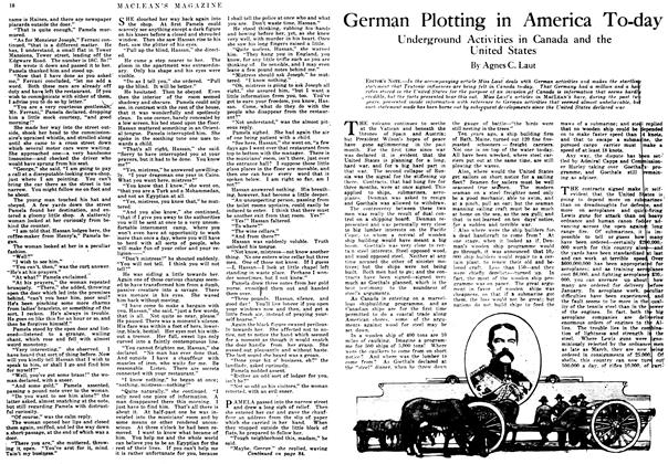 Article Preview: German Plotting in America To-day, October 1917 | Maclean's